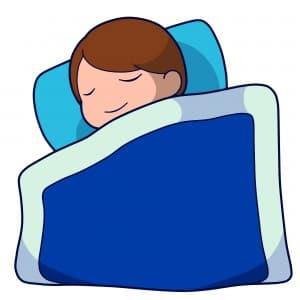睡眠習慣の改善による抜け毛対策