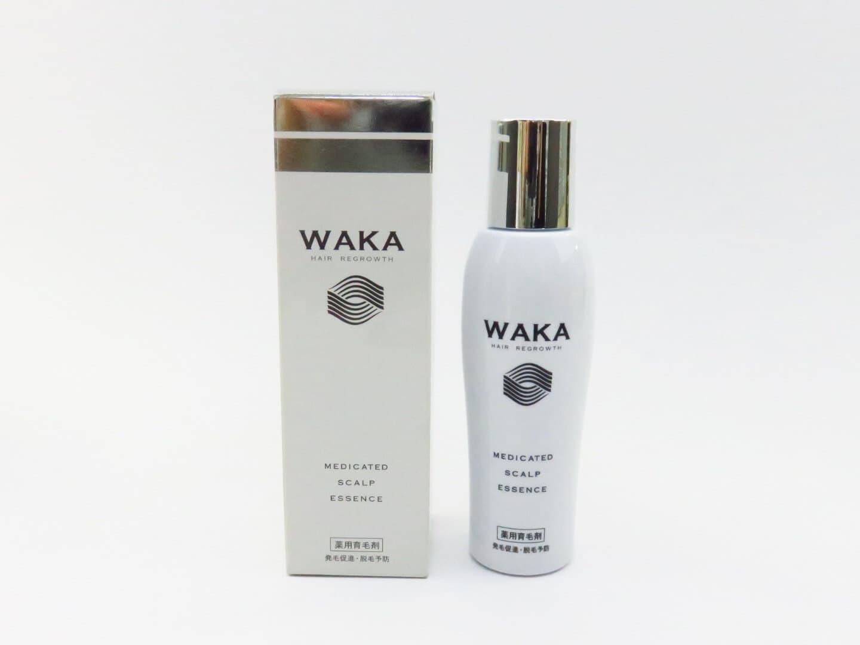 WAKA(ワカ) 箱とボトル