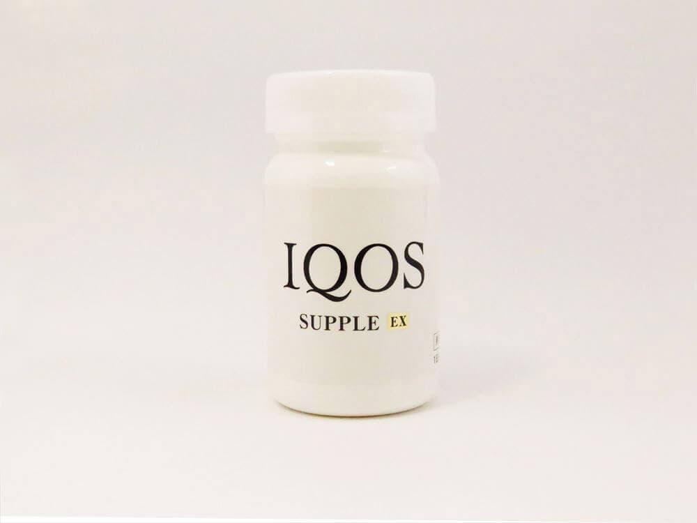 イクオス サプリメントのボトル