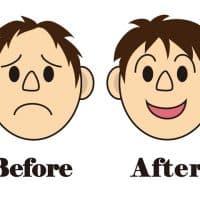 薄毛を改善する男性