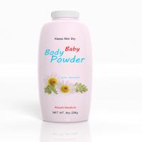 ベビーパウダーのボトル