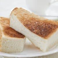 食パンの焦げ目