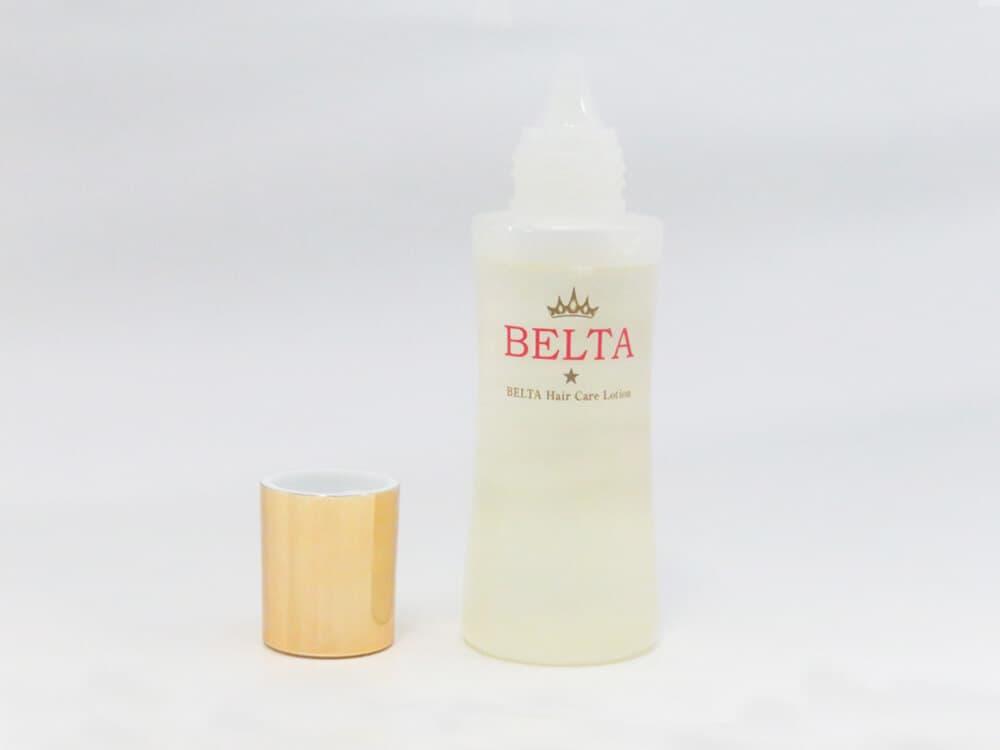 ベルタのボトルとキャップ
