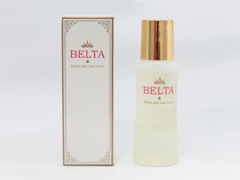 ベルタの箱とボトル